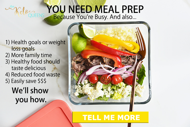 Healthy Meal Prep Ideas for the Week with Keto Meal Prep Course