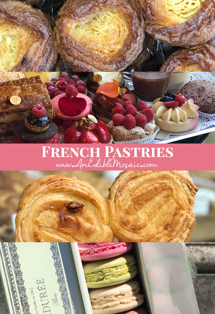 French Pastries Pin