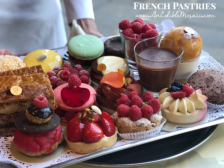 French Pastries with Description