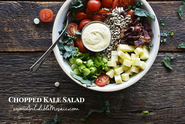 Chopped Kale Salad with Description