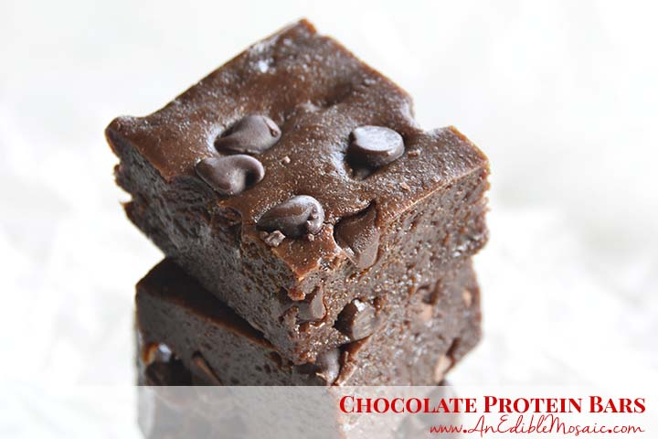 Chocolate Protein Bars with Description