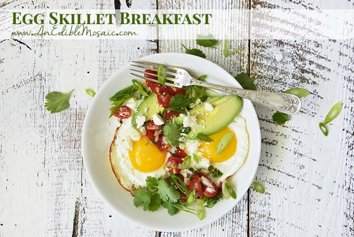 Egg Skillet Breakfast with Description