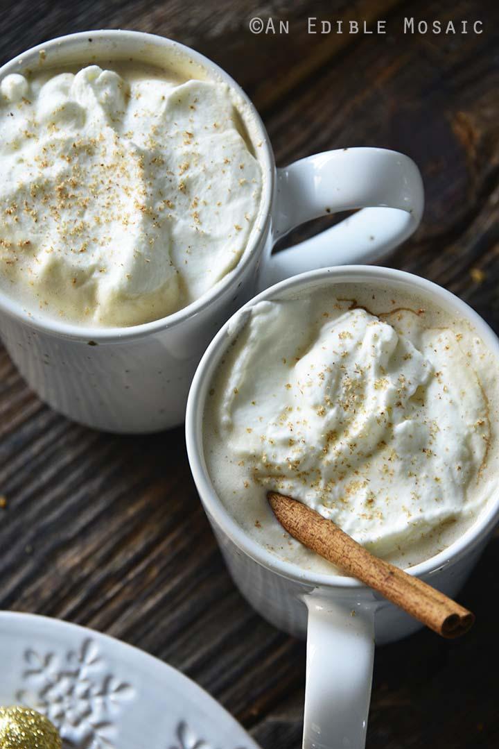 Easy Eggnog Latte Recipe