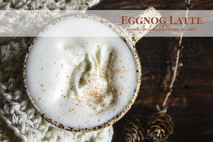 Eggnog Latte with Description