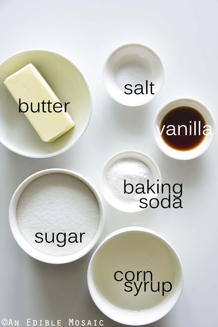 Sponge Candy Ingredients