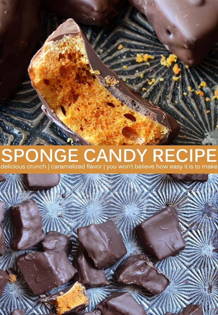 Sponge Candy Pin