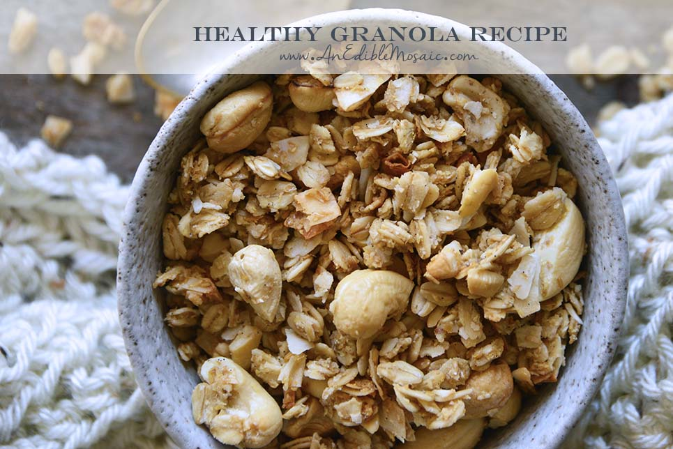 Healthy Granola Recipe with Description