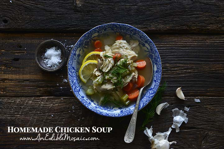 Homemade Chicken Soup Recipe with Description
