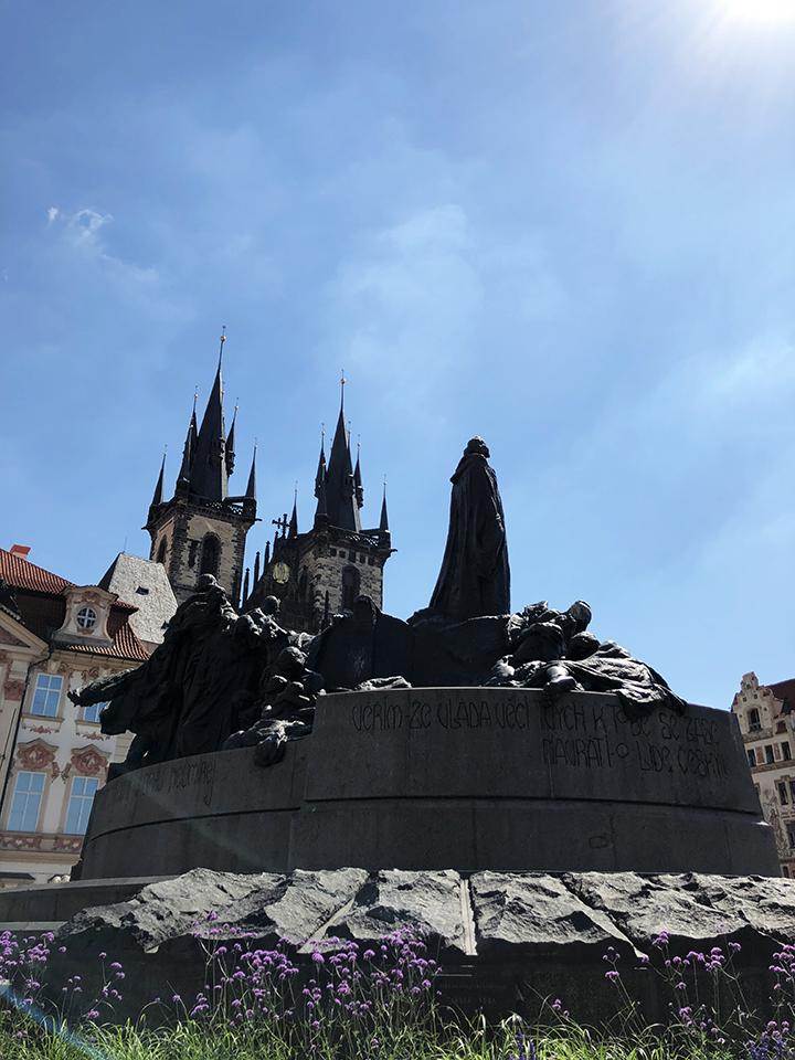 Jan Hus Memorial in Praha