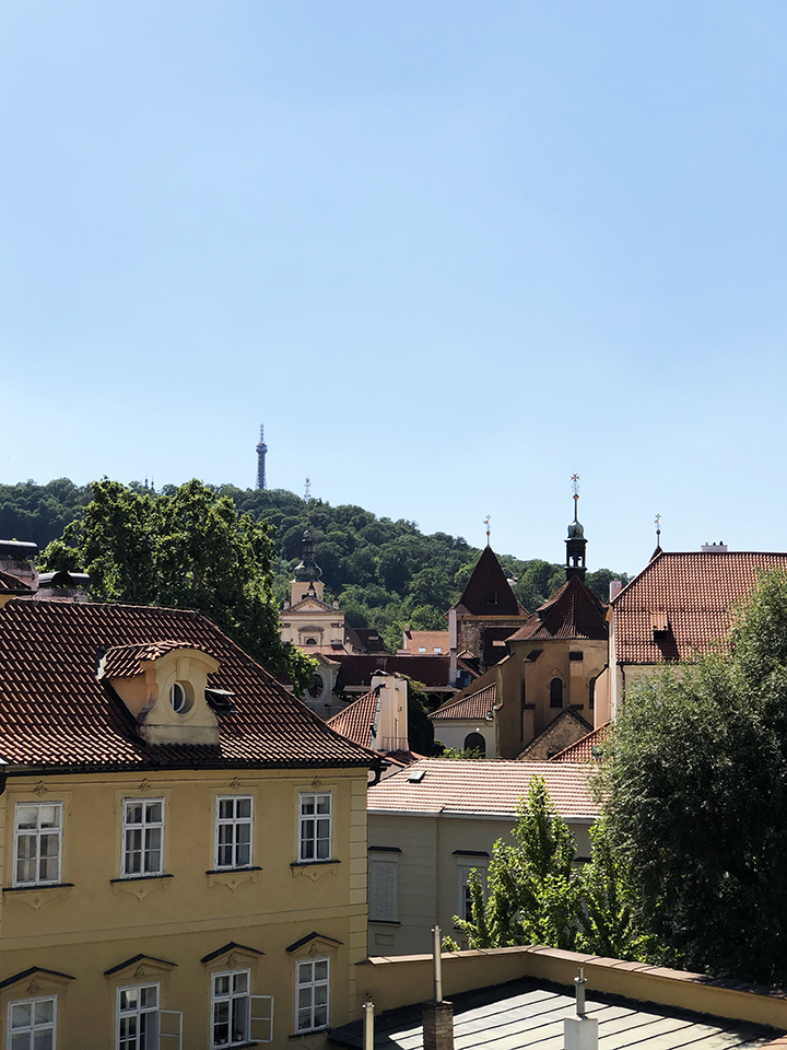 Petrin Hill From a Distance