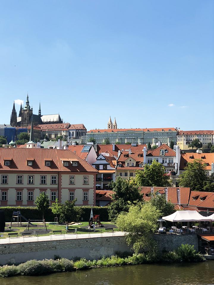 Prague Castle From a Distance