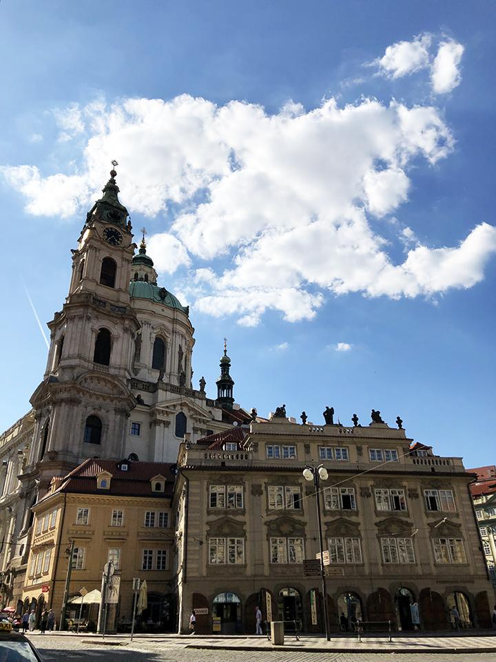 St Nicholas Church Lesser Town Prague