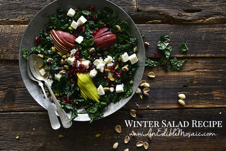 Winter Salad Recipe with Description