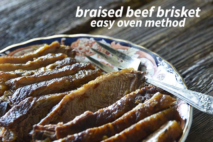 Braised Beef Brisket with Description