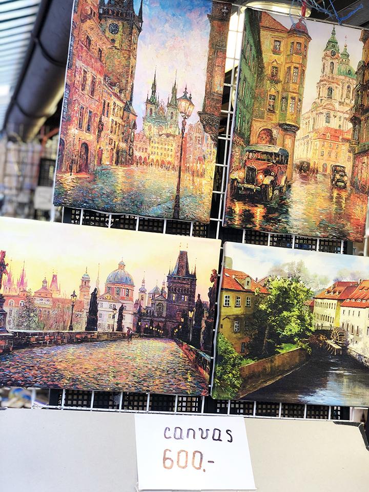 Canvas Paintings in Prague