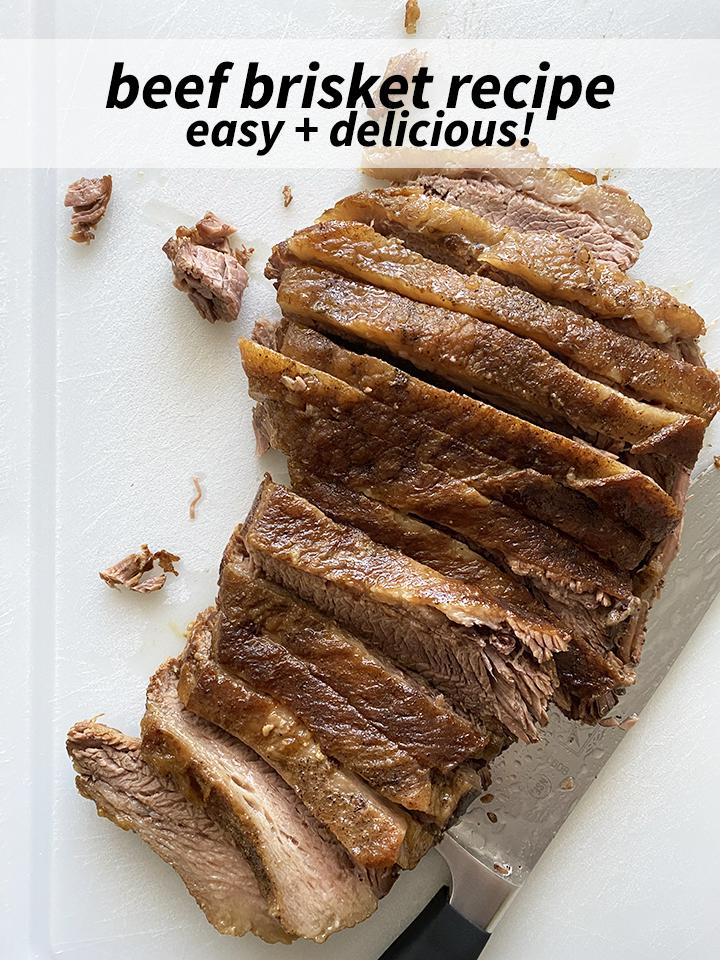 Classic Beef Brisket Recipe Pin