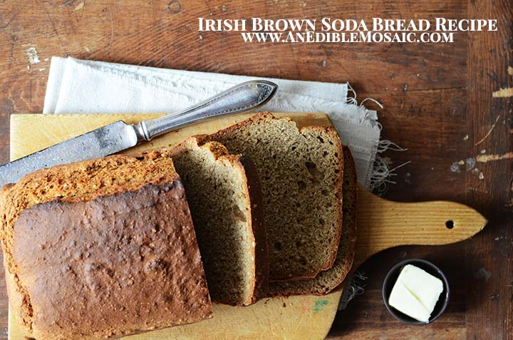 Irish Brown Soda Bread Recipe with Description