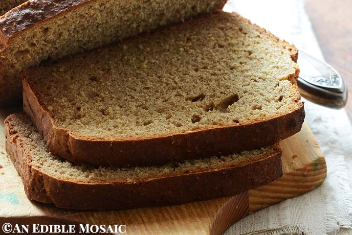 Irish Brown Soda Bread Recipe An Edible Mosaic