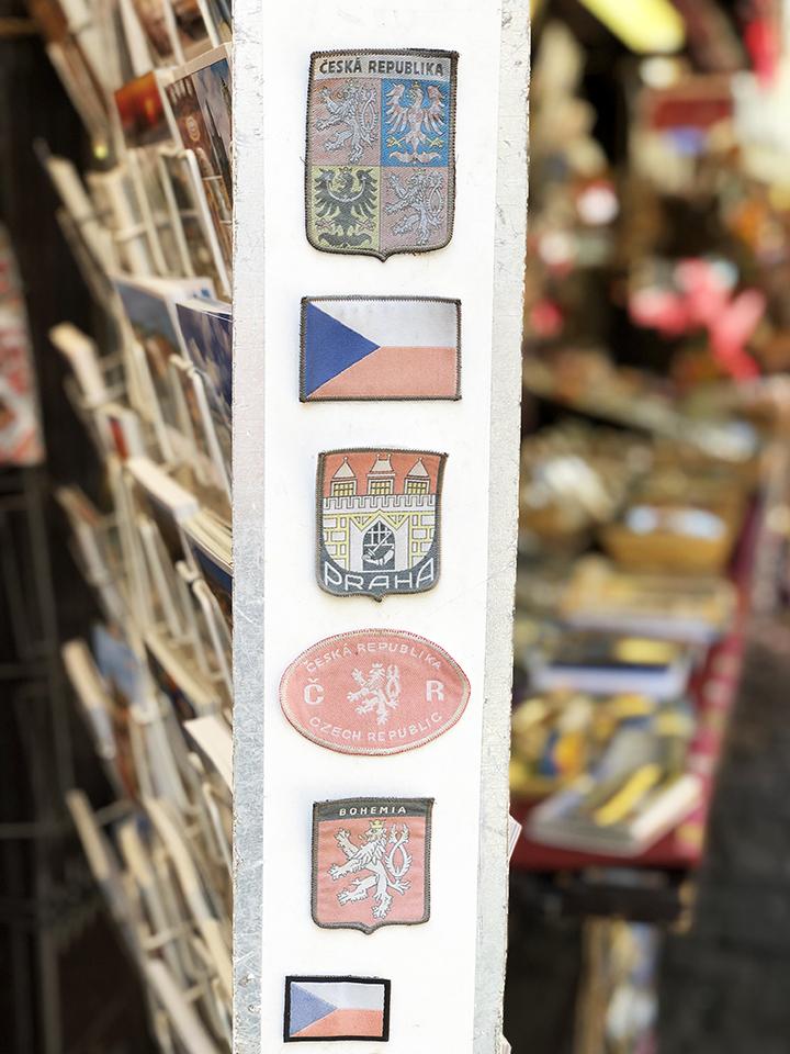 Iron On Prague Flags