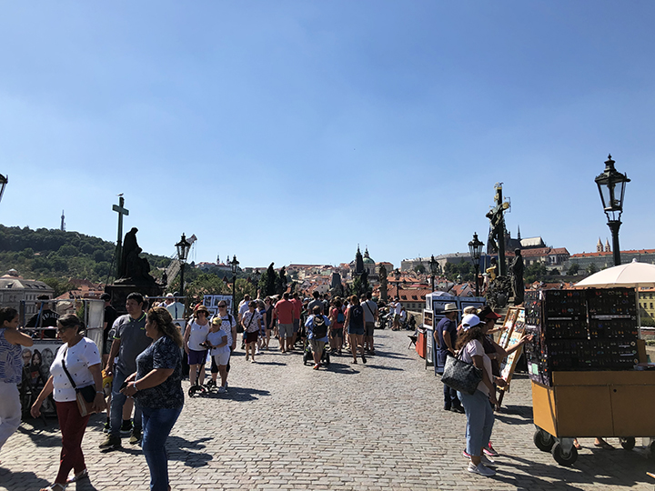 Jewelry and Artwork for Sale on Charles Bridge