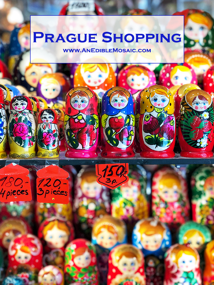 Prague Shopping Pin