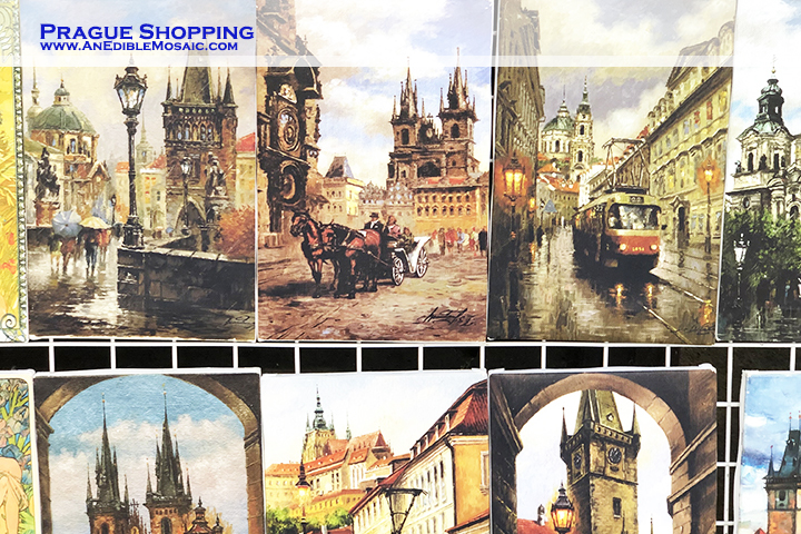 Praha Shopping with Description