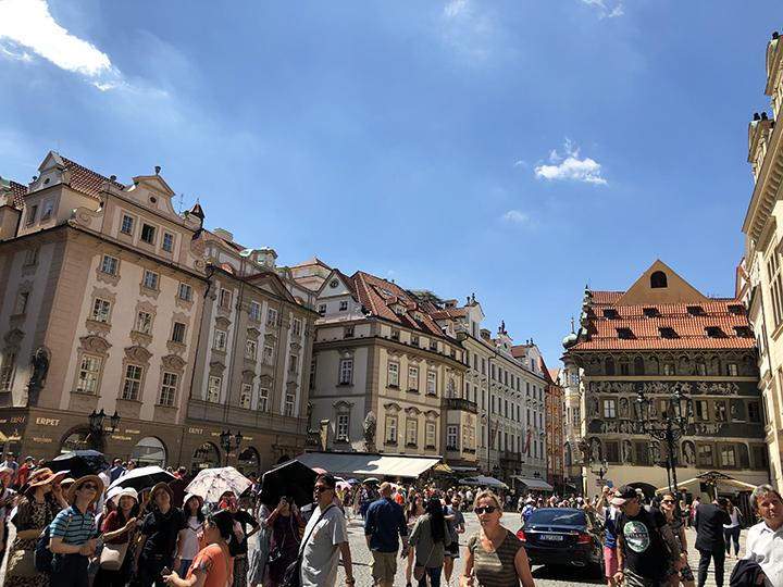 Shopping Old Town Square Prague