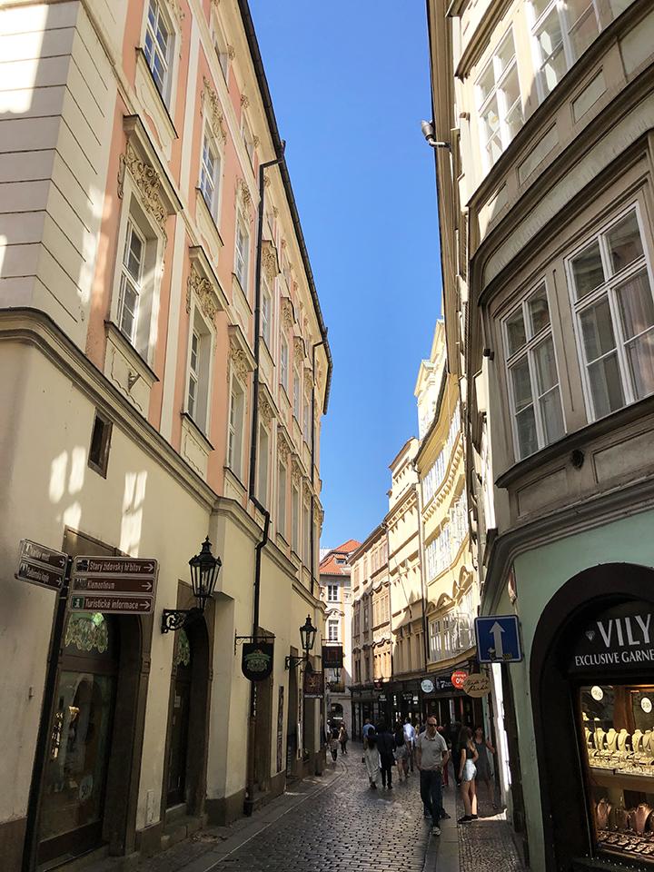 Street with Garnet Shop