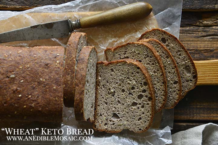 Wheat Keto Bread Recipe with Yeast with Description