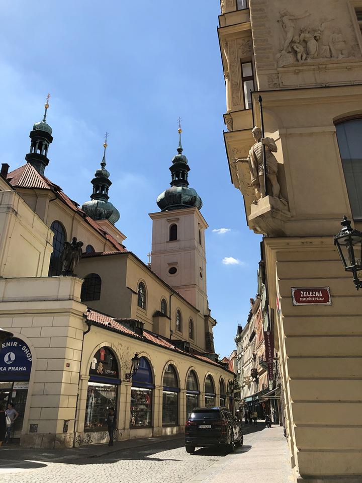 Zelezna Street Prague