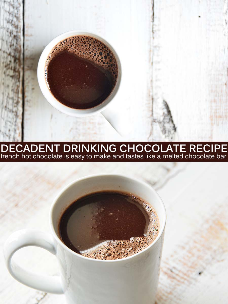 Drinking Chocolate Pin