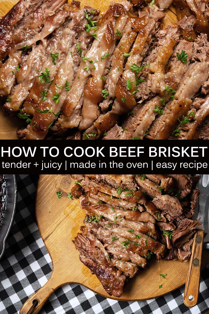How to Cook Beef Brisket Recipe Pin