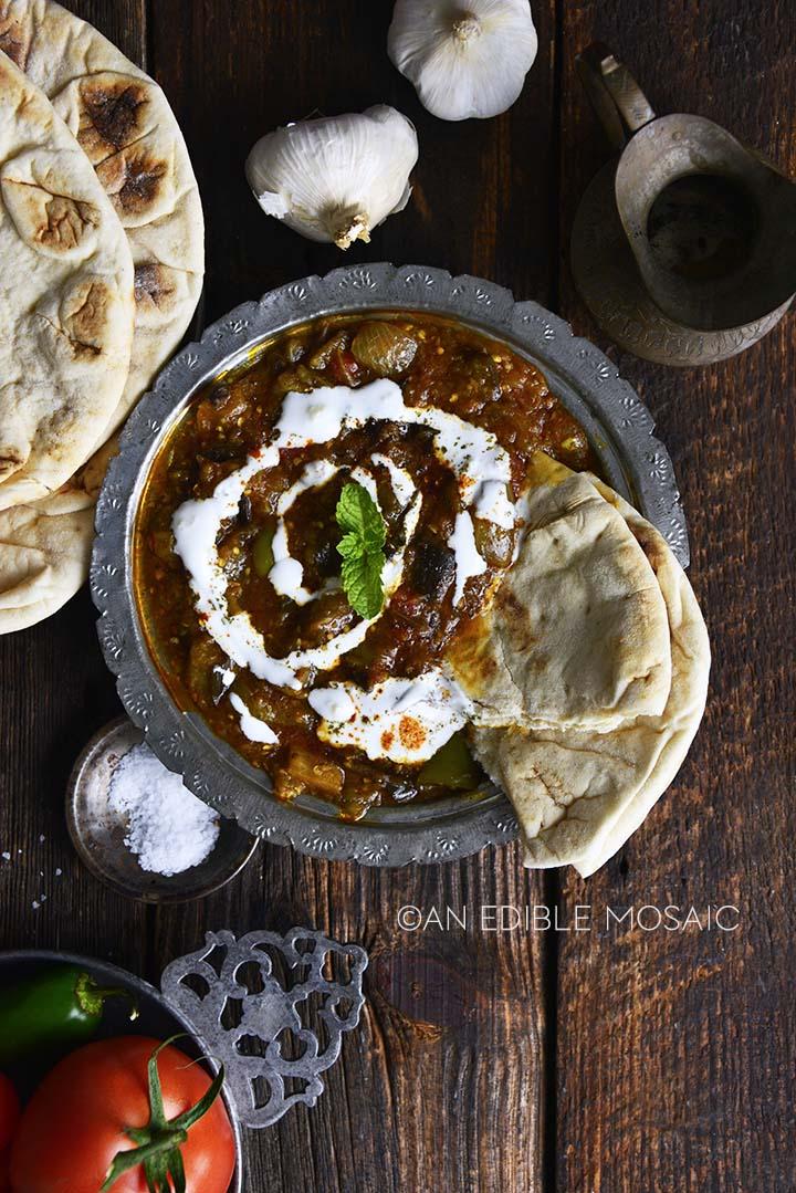 afghan eggplant dip recipe