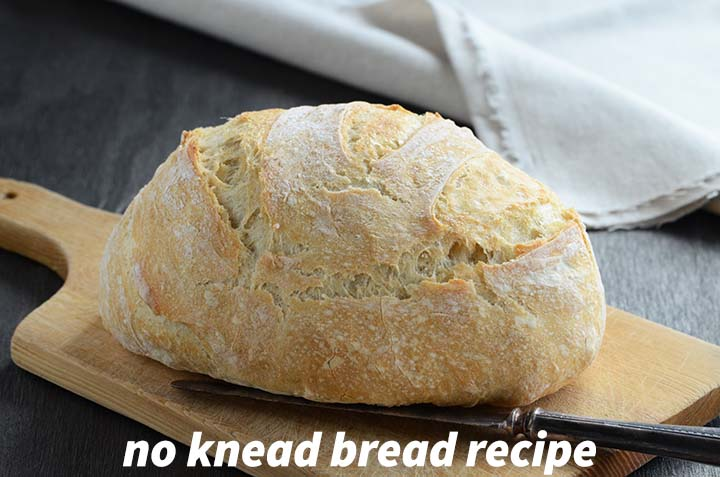 No Knead Bread Recipe with Description