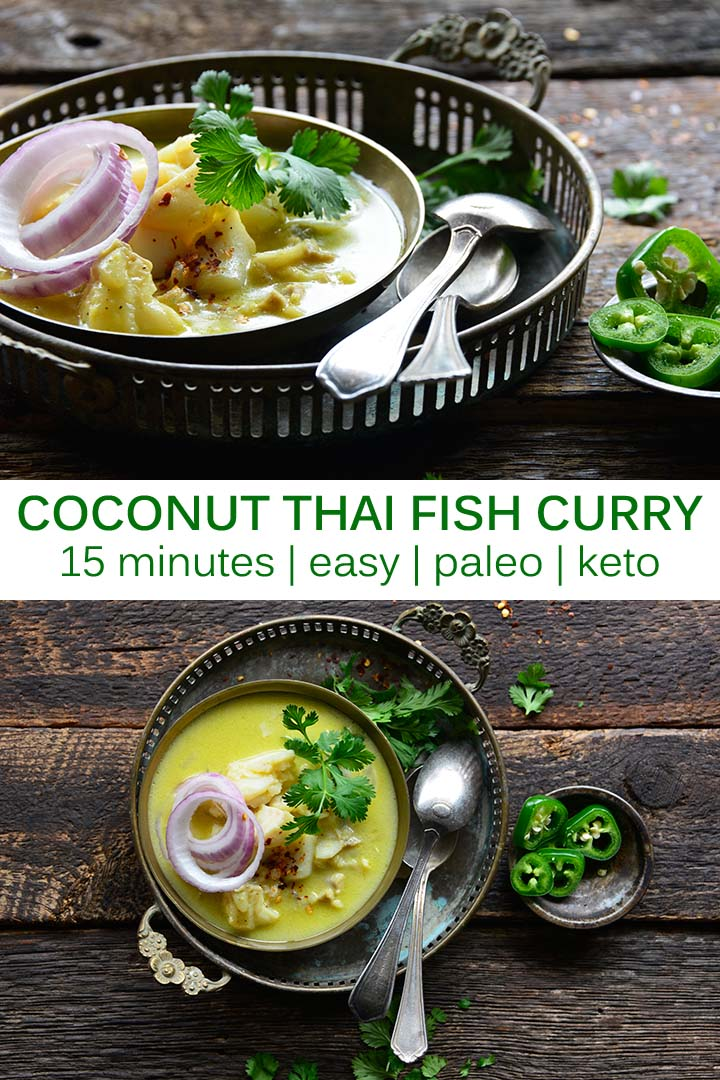 Coconut Thai Fish Curry Pin