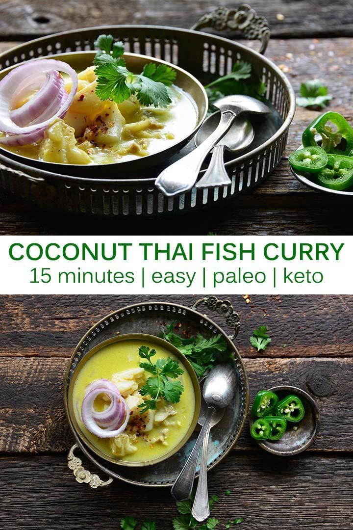 Coconut Thai Fish Curry Pin