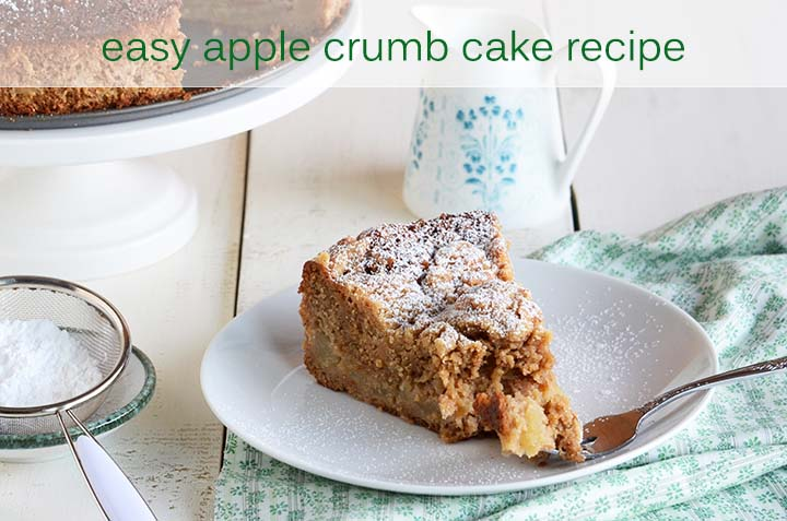 Easy Apple Crumb Cake with Description
