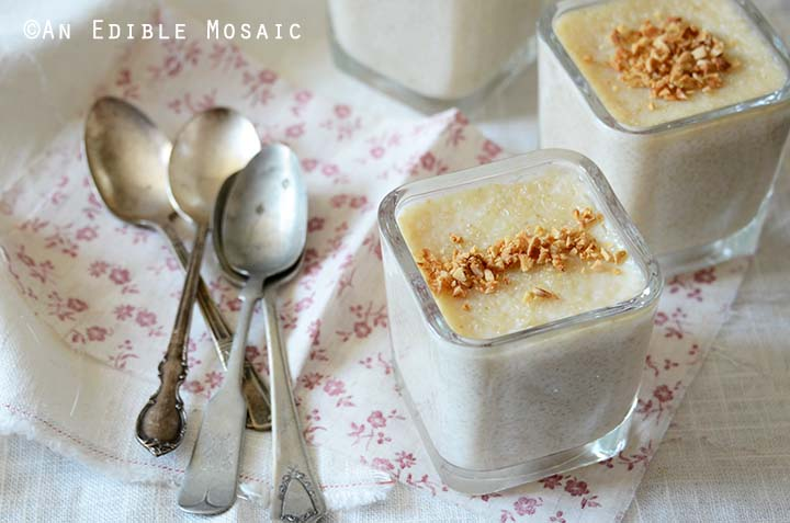 Creamy Brown Rice Pudding Recipe with Vintage Spoons