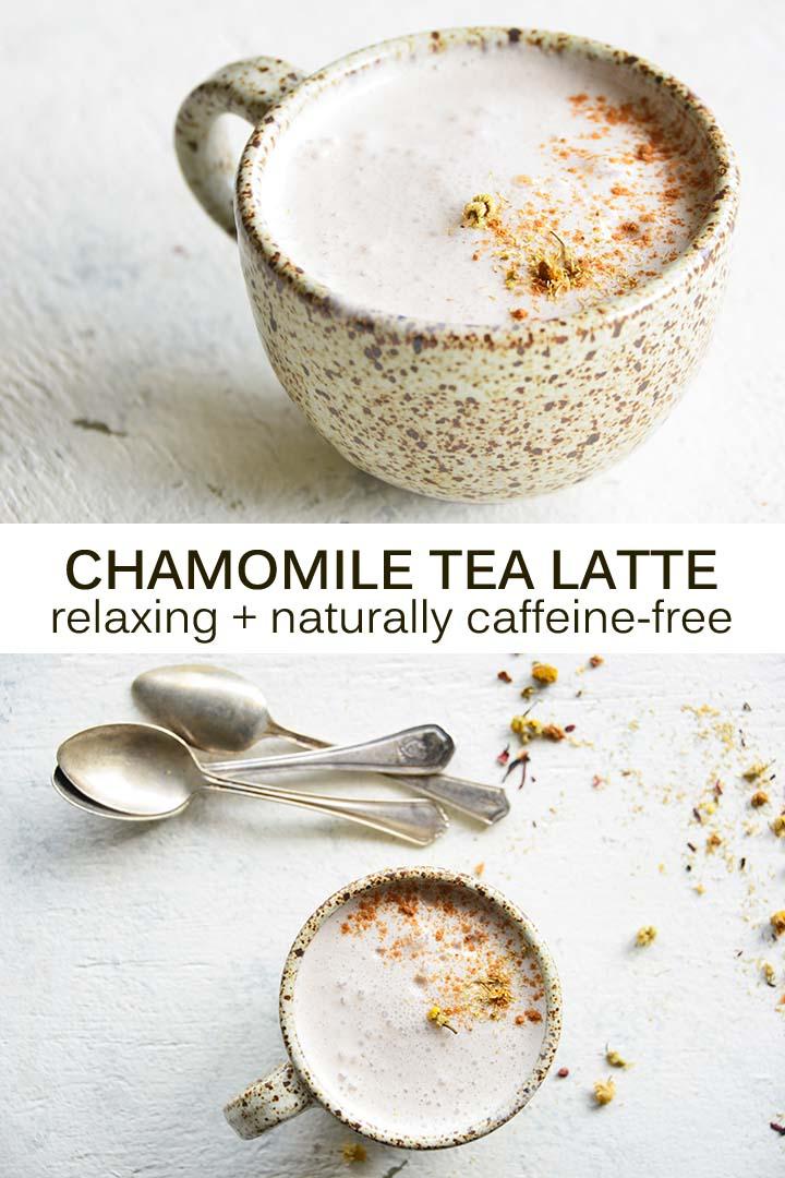 Chamomile Tea Latte Pin