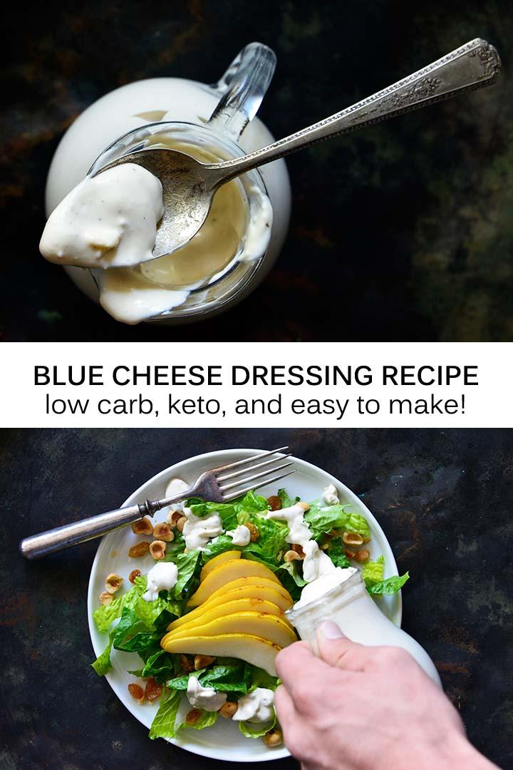 Keto Blue Cheese Dressing Pin