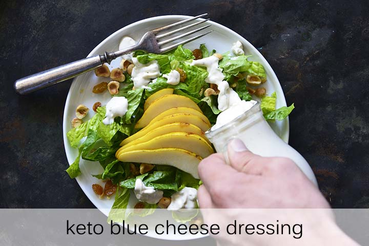 Keto Blue Cheese Dressing with Description