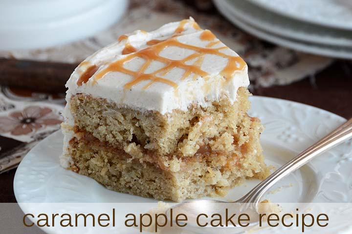Caramel Apple Cake Recipe with Description