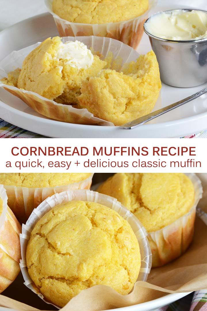 Cornbread Muffins Pin