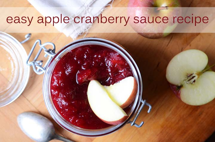 Easy Apple Cranberry Sauce Recipe with Description