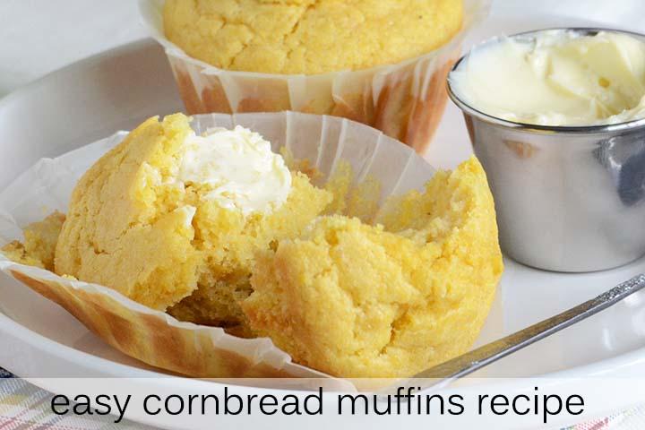 Easy Cornbread Muffins Recipe