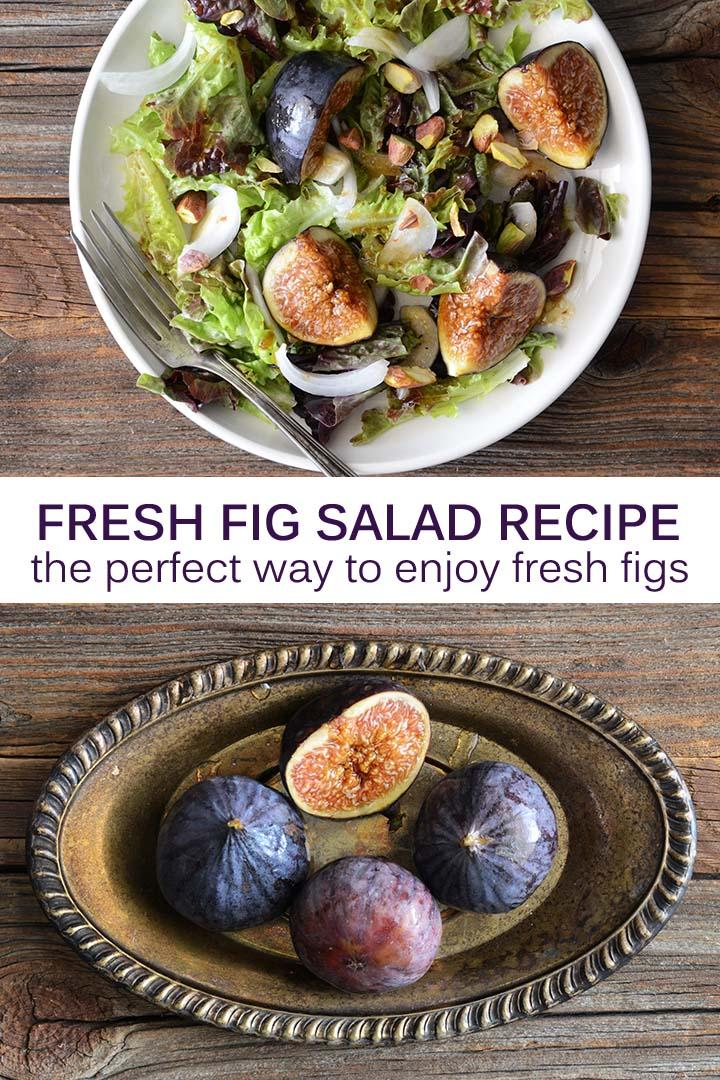 Fresh Fig Salad Recipe Pin