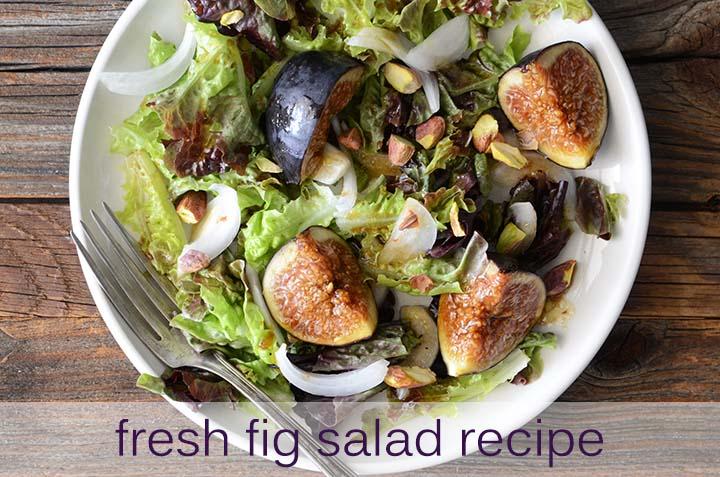 Fresh Fig Salad Recipe with Description