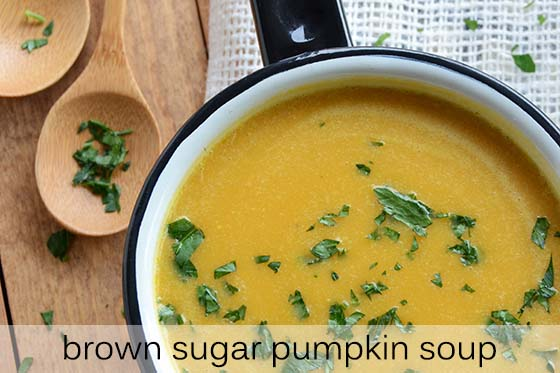 Brown Sugar Pumpkin Soup Recipe with Description
