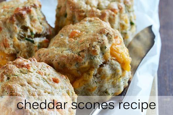 Cheddar Scones Recipe with Description