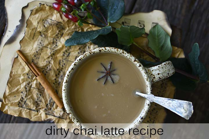 Dirty Chai Latte Recipe with Description